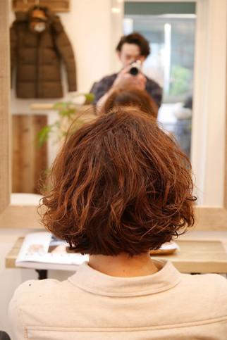 スタイリングが簡単でオシャレなヘアスタイル