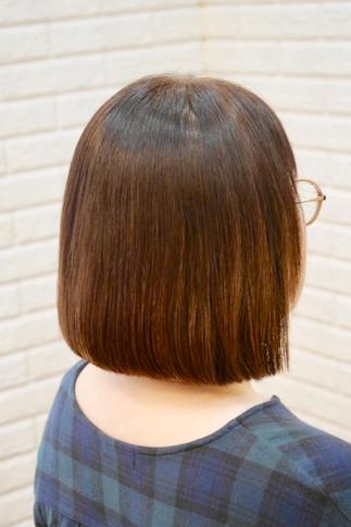 スタイルチェンジで綺麗な髪に