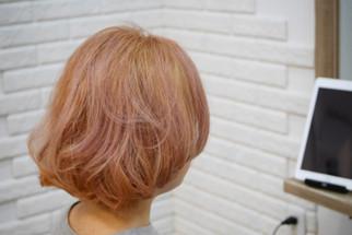 淡いピンクで気持ちは春〜