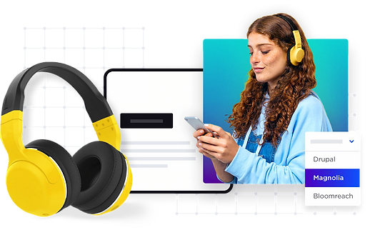 collage-product-headphones-cms-drupal-ma