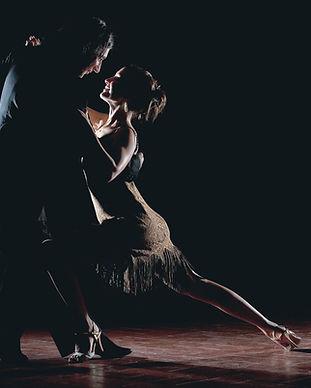 Paar Salsa-Tanzen