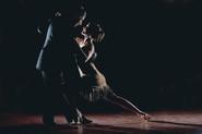 Couple Salsa Dancing