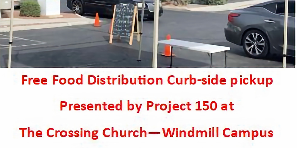 Location: The Crossing Church - Free Curb-side Food Distribution Pickup for High School Students