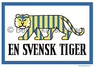 En Svensk Tiger © Beredskapsmuset http://www.beredskapsmuseet.com