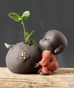 Figurine-moine de Shaolin