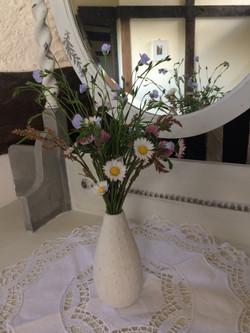 Wild flowers in Arch Bedroom