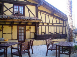 Gite Courtyard