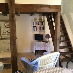 Lodge stairs to bedroom