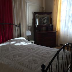 Lodge double bedroom