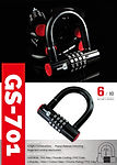 motorcycle scooter combination lock