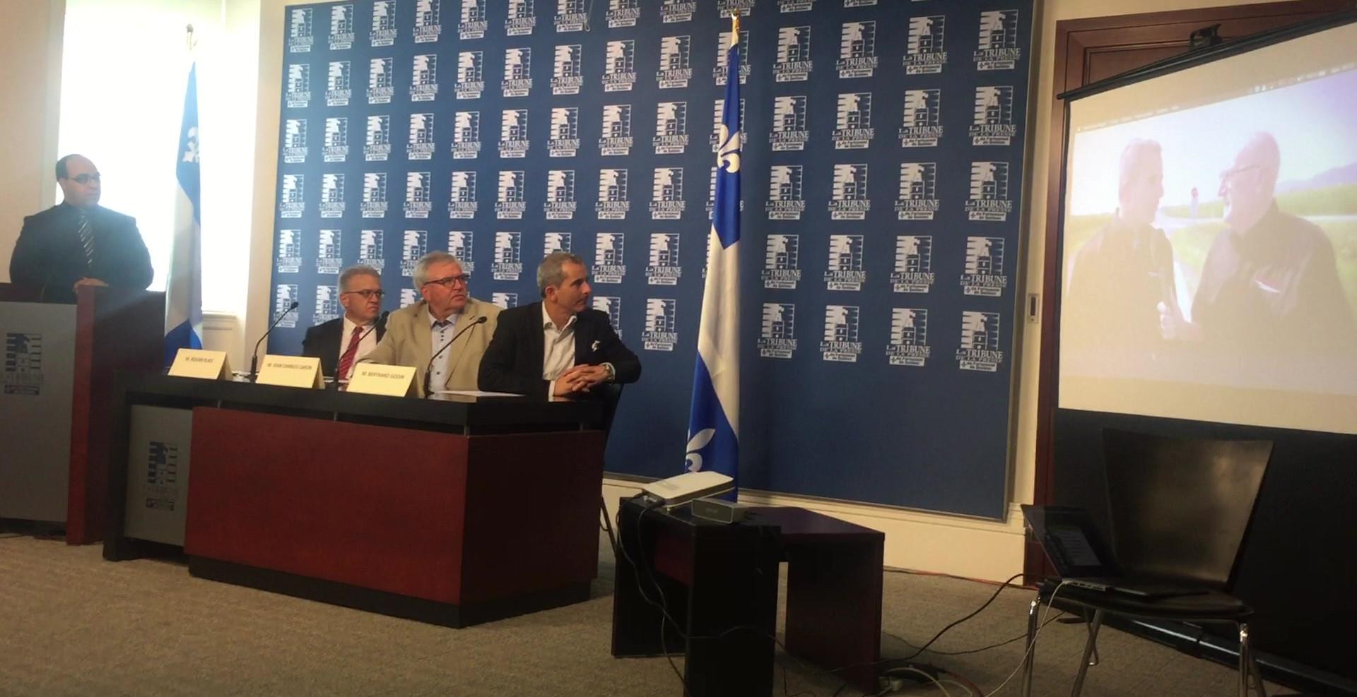 Québec - Conférence de presse - Assemblée Nationale du Québec