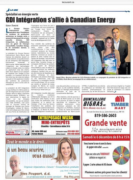Journal le Courant ( Mont-laurier )
