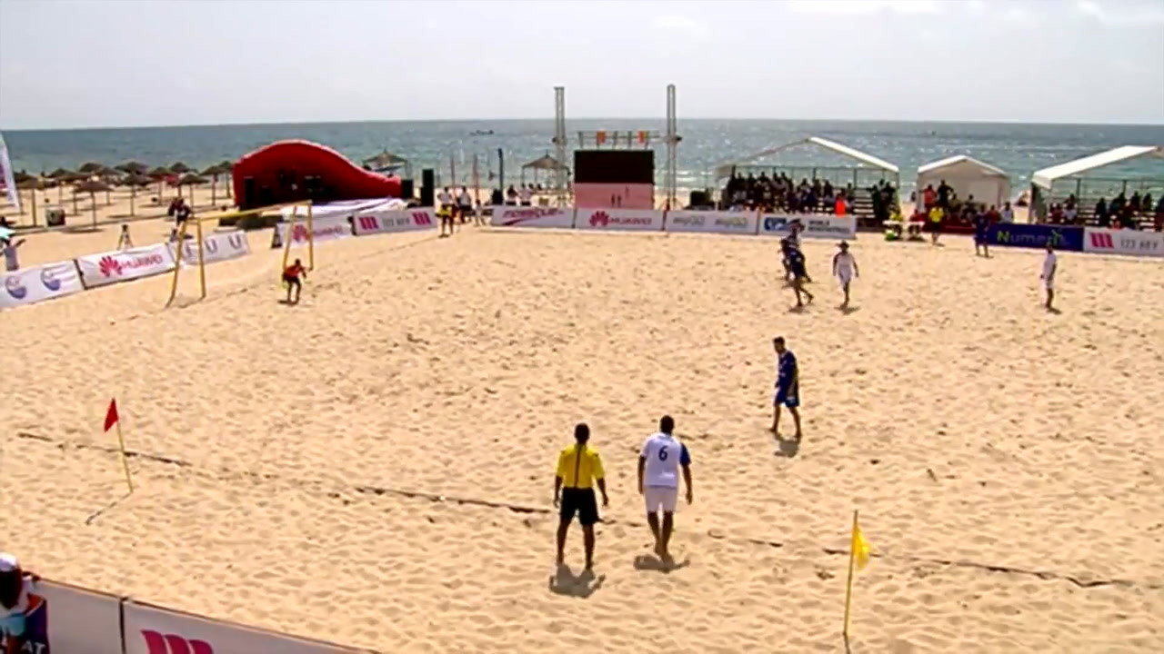 Tunisie - Beach soccer - Participation du Canada