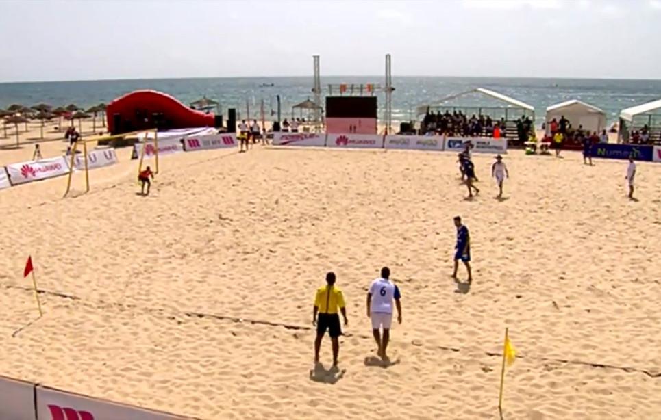 Tunisie - Beach soccer - Participation du Canada