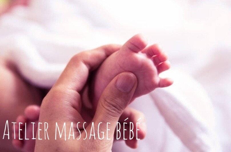 Atelier massage bébé privé