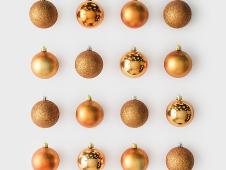 holiday planning + organization