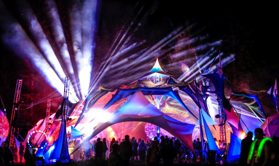 Tunnel Entry at Motion Notion Festival 2