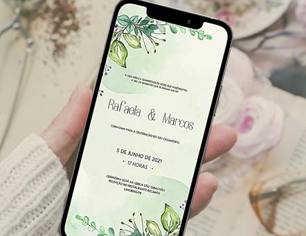 Convite digital para casamento: sim ou não?