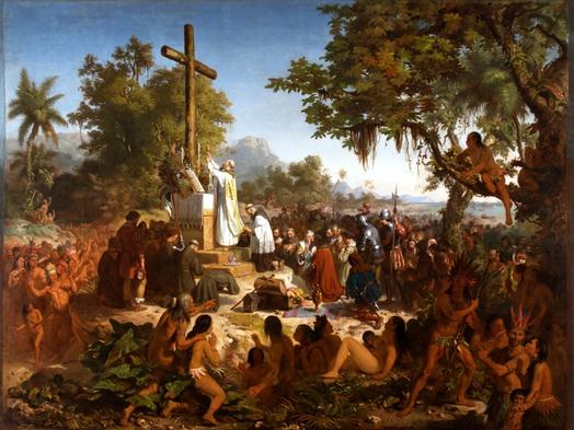 A Primeira Missa no Brasil?