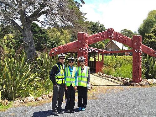 Walk and Cycle with Maori on Waiheke Island