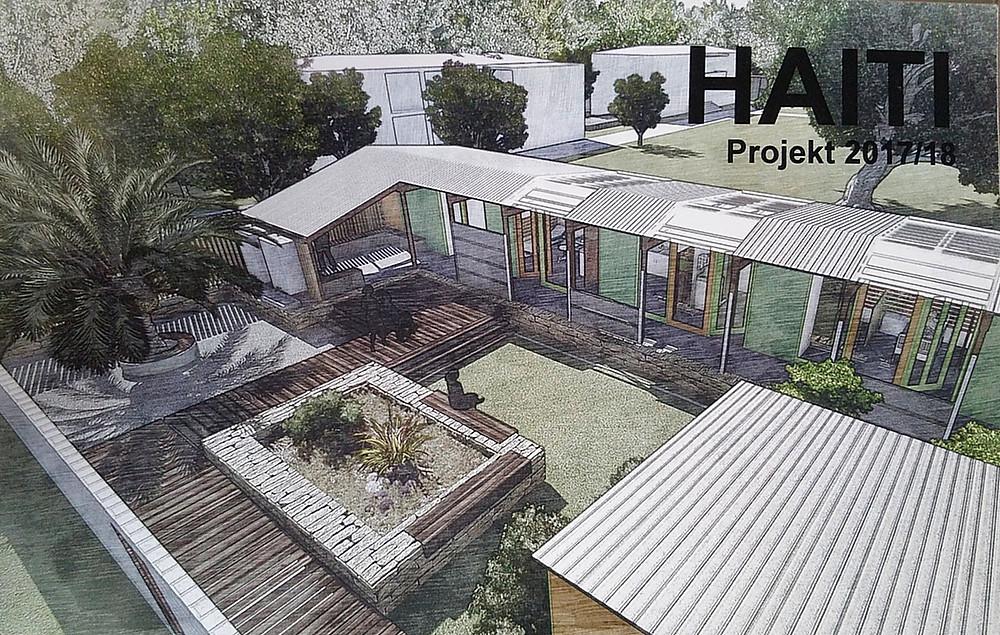 """Planung der """"Krankenstation"""" vor dem Haiti-Besuch"""