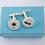 Thumbnail: Porcelain cufflinks