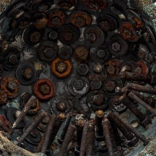 Detritus series close up