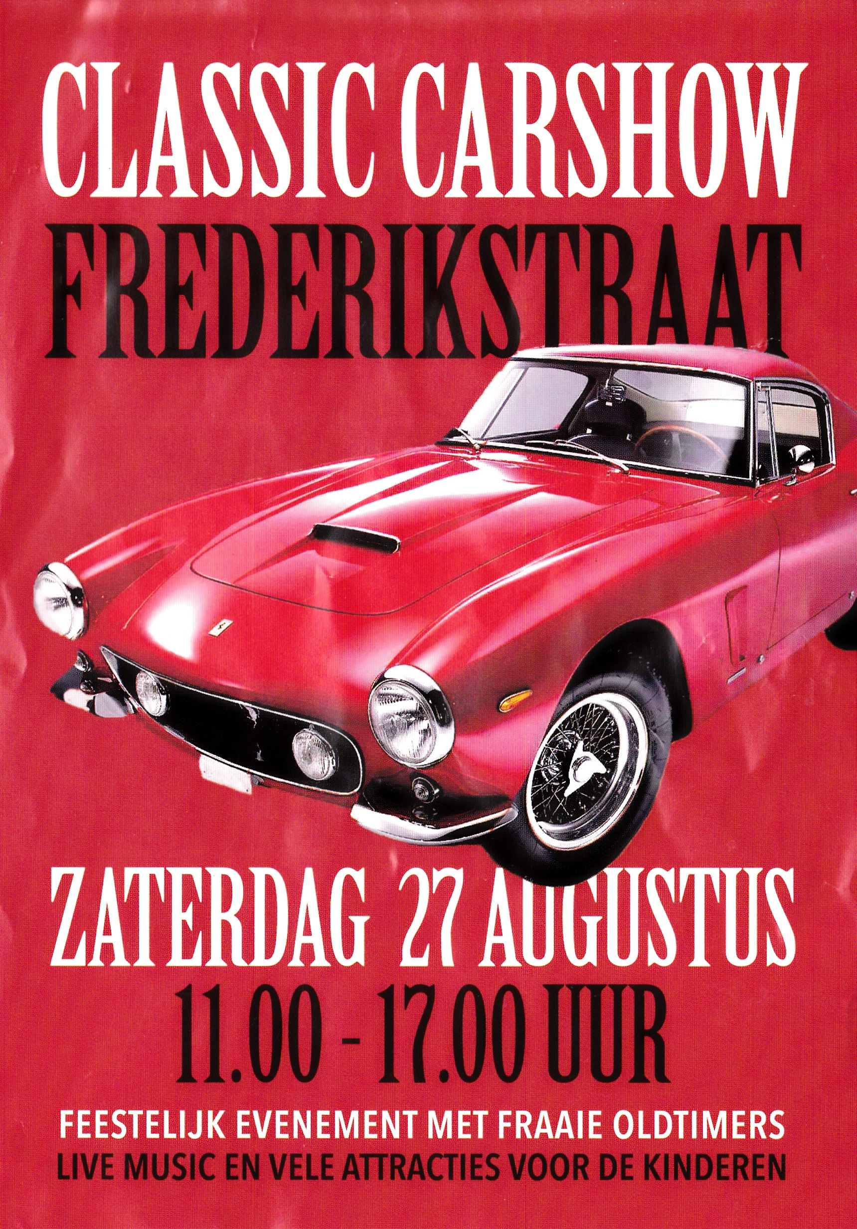 Flyer Frederikstraat