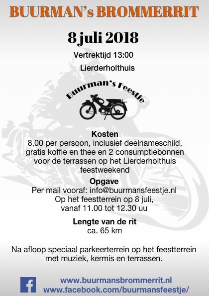 Buurmans Brommerrit 2018 Achterkant flyer