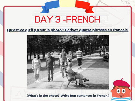 French Week Day 3 Question