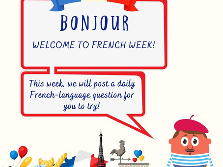 Welcome to French Week!