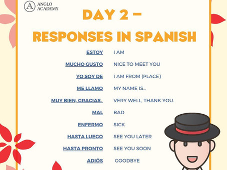Spanish Week Day 2 Question