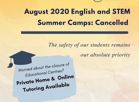 Cancellation of HK Summer Camps