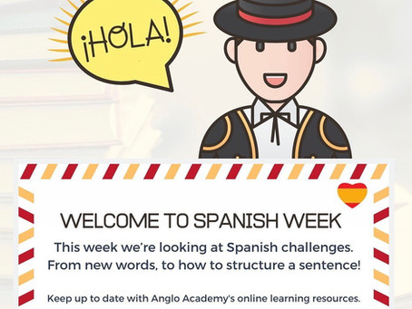 Welcome to Spanish Week