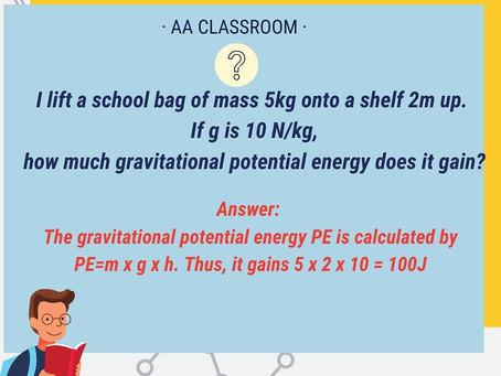 Physics Week Wednesday Answer