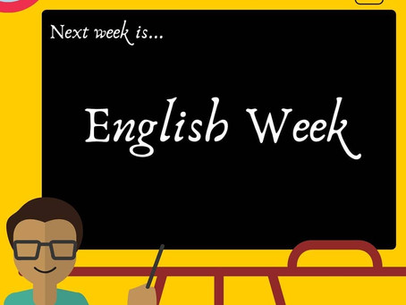 Welcome to English Week!