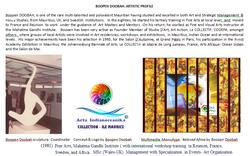 Boopen doobah artistic profile & Arta In