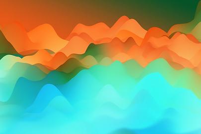 Header Art - Waves Blue Orange.png