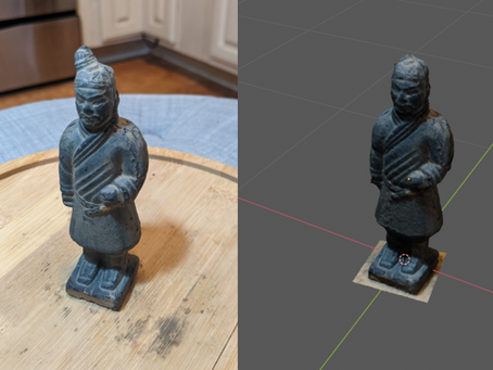 How to 3D Scan an Object for Synthetic Data