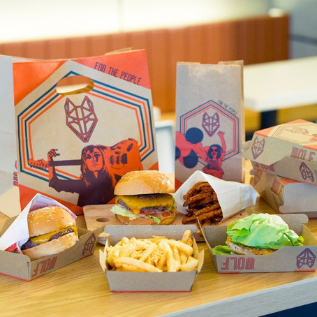 WOLF Burgers Launches  Exclusive Online Menu with GrabKitchen