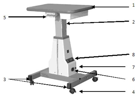 Стол с электроприводом BL-16
