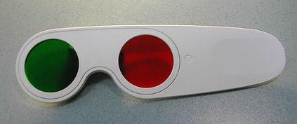 Красно-зеленые очки