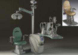 Рабочее место врача офтальмолога Meccanottica Mazza, Италия