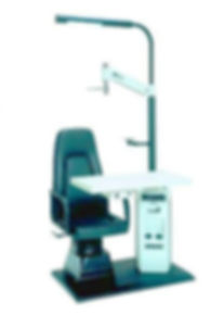"""Рабочее место врача офтальмолога Polivisus """"Simplex-2 65/PВ"""" Кресло пациента 88AD(откидное) , Frastema (Италия)"""