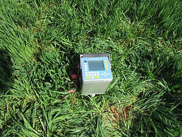 microgravimètre gravimètre cavités terrains décomprimés parc éolien