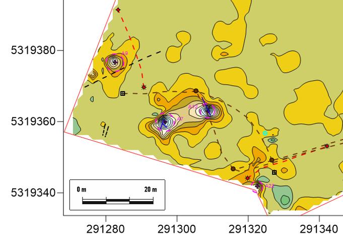 résistivité conductivité susceptibilité magnétique DUALEM conductivimètre anomalies