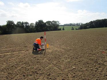 microgravimétrie terrains décomprimés