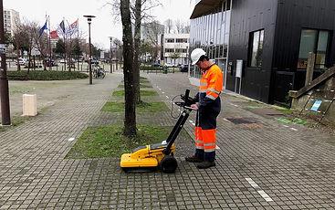 géoradar réseau enterré station-service canalisation hydrocarbures forage pollution