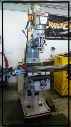 Alliant Verticle Mill
