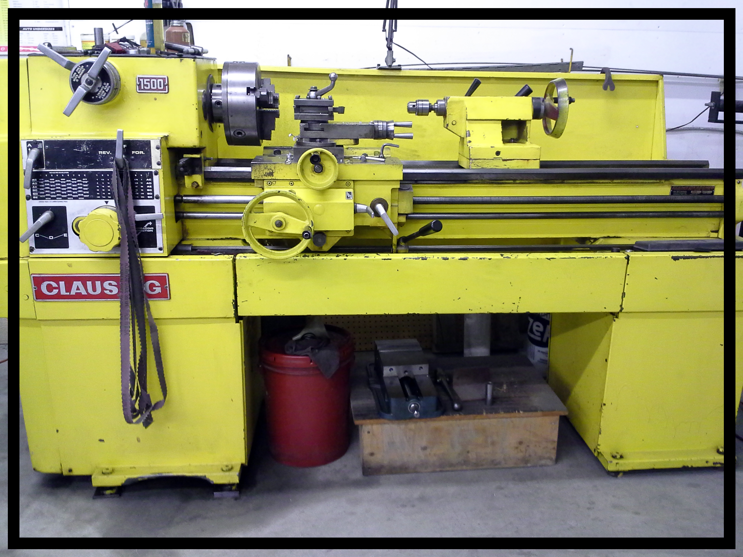 Clausing Lathe